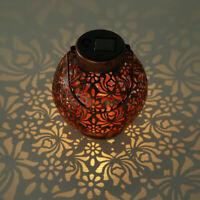 Lampe Solaire Projecteurs de Jardin Hängelaterne LED Lanterne Déco