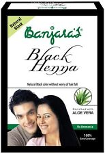 Banjaras Black Henna With Aloevera - 50 gm