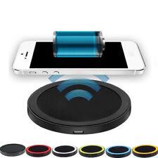Qi Pad de Cargador Dock de carga inalámbrica para Apple iPhone 8 Plus Samsung Galaxy X