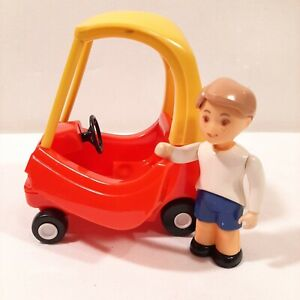 Little Tikes Dollhouse Cozy Coupe Car with Boy