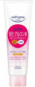 KOSE Softymo Super Cleansing Make-up Remover Hyaluronic Facial Wash 190g Japan