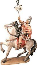 OFICIAL ROMANO EN EL CABALLO - CAPTAIN ON HORSE MADERA-TALLADO MADERA CM. 10