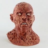 Zombies Freddy Krueger Cosplay Mask Natural Latex Headgear for Halloween Party