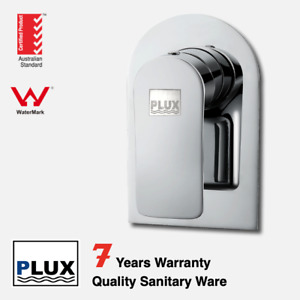 PLUX High Quality Bathroom Chrome Round Wall Mixer-- -Tap/ Mixer/ Faucet