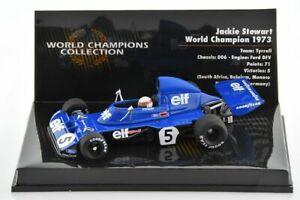 F1 TYRRELL 006 Stewart World Champion 1973 1/43 MINICHAMPS 436730005