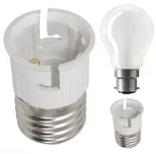 New Lamp Light Bulb Socket Base Converter Bayonet Cap to Edison Screw B22 to E27