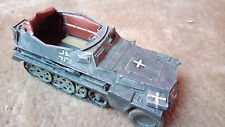 GERMAN SD KFZ 250 DEMAG HALF TRACK F 1/35 PRO BUILT / MADE