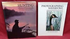 2 Book Lot-Hunting, First Edition, The Southern Tradition/Photographic Waterfowl