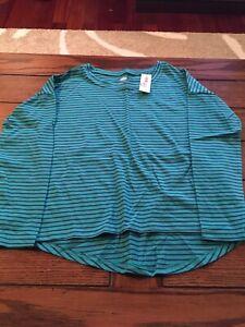 Old Navy Girls Long Sleeve Shirt, Sz 6/7, NWT
