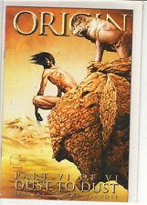 Origin #6 Paul Jenkins Andy Kubert Wolverine mini series 9.6
