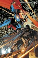 BATMAN SUPERMAN #7 CARD STOCK ANDY KUBERT VARIANT  DC COMICS NM 2020