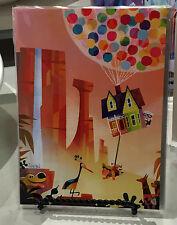 Disney WonderGround Russell, Dug & Carl Fredricksen UP Postcard by Joey Chou