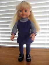 "Playmates ~ Vintage 1999 Vinyl Amazing Ally 18"" Doll"