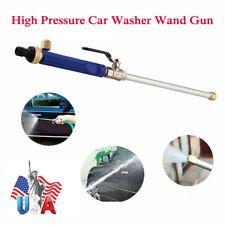 Water Spray Gun Nozzle Wand Hose Jet High Pressure Garden Car Power Wash Tool US