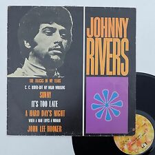 "LP Johnny Rivers  ""Whisky a go-go revisited - John Lee Hooker"" - RARE Brazil"