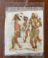 "Antique/Vintage Nebo Cigarette Tobacco Silk ""Cheyenne Braves Dancing"""