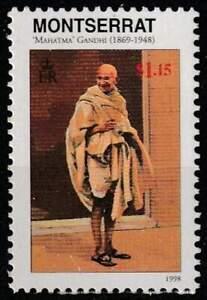 Montserrat postfris 1998 MNH - Mahatma Gandhi (K247)