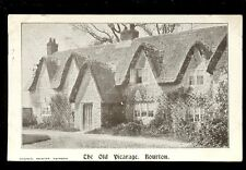 Wilts Wiltshire BOURTON Old Vicarage Used 1907 PPC