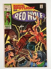 MARVEL SPOTLIGHT #1 1971 -- Red Wolf
