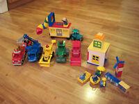 Large Lot of Lego Duplo Bob the Builder Set