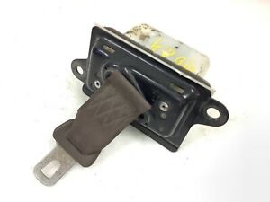 90-91 Accord Left Front Driver Lower Lap Safety Seat Belt Urban Brown Used OEM