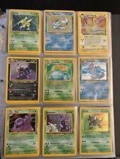 Vintage Pokemon Cards - 178 Card Binder Lot