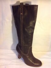 Aldo Brown Knee High Leather Boots Size 41