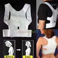 Hot Magnet Posture Back Shoulder Corrector Support Brace Belt Therapy Adjustable