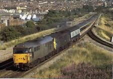Diesel Class 31 31455 & 31417 Narroways Hill Junction Bristol 1989 postcard