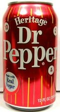 UNOPEN EMPTY 12oz American Doctor Dr. Pepper Heritage Limited Edition USA 2010