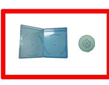 New 100 VIVA ELITE Blu-Ray Case 6mm Slim line Double Hold 2 Discs Free Shipping