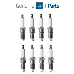 For Buick Chevy Cadillac Hummer Pontiac V8 Set of 8 Spark Plug GM Genuine OEM