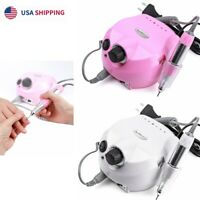 35000RPM Electric Nail Drill File Machine Manicure Salon Nails File Pedicure US