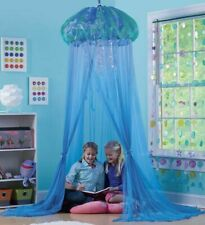 AQUAGLOW LIGHT-UP JELLYFISH HIDEAWAY - SPARKLING BLUE CANOPY WITH LED FOR KIDS