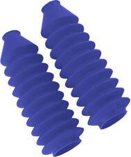 Daystar Blue Fork Boots Pair Fork Gator CR80 XR80 KDX80 KX80 RM80 CR MX00234RB