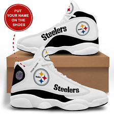 Pittsburgh Steelers Customizable Sneakers