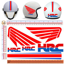 Adesivi casco HRC sticker helmet motorcycle tuning decal print pvc 6 pz.