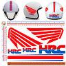 Adesivi casco HRC sticker helmet motorcycle tuning decal print pvc 6 pz.