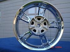 Harley Chrome Street Glide Special Enforcer REAR Wheel 14-17 Rim Exchange Only