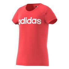 Abbigliamento rose adidas con girocollo per bambine dai 2 ai 16 anni