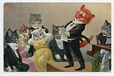 ARTHUR THIELE Chats humanisés . Dressed cats . Katze . Gato . 猫