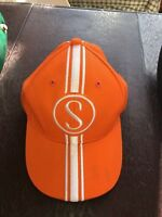 Orange Krate Baseball Cap Schwinn Stingray Bicycle baseball hat Made in USA COOL