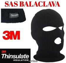 Thinsulate Balaclava Mask Winter Warm SAS Style Army Ski Hat Face Neck Warmer UK