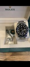 JAN 2020 Rolex Submariner Date 116610LN Steel Black Ceramic Warranty Jan 2025