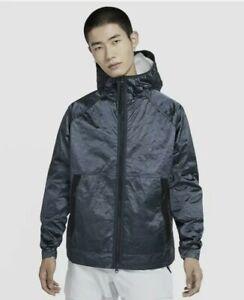 $250 Nike Sportswear Tech Pack Woven Hooded Tyvek Jacket Size Large CU3758-458