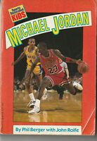 Vintage 1990 Sports Illustrated for Kids Book  Michael Jordan by Berger  M20