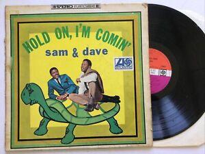 Sam & Dave: Hold On, I'm Comin': Plum Atlantic Original 1966 Free UK Post.