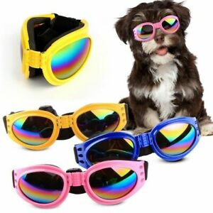 Pet Protection Small Doggles Dog Sunglasses Goggles Wear Glasses Eye Sun UV E7K