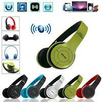 Wireless Headphones Bluetooth Headset Noise Cancelling Over Ear Earphones