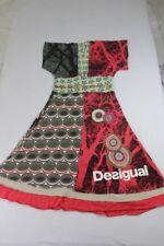 Z3287 Desigual 01V2040 Kleid M  Mehrfarbig Mit Motiv Sehr gut